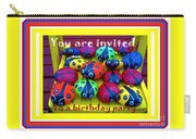 You Are Invited To A Birthday Party Carry-all Pouch