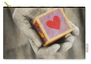 You Hold My Heart In Your Hand Carry-all Pouch
