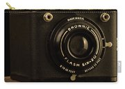 You Push The Button We Do The Rest Kodak Brownie Vintage Camera Carry-all Pouch