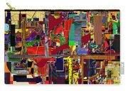 You Saw No Picture 12 Carry-all Pouch by David Baruch Wolk