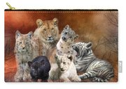 Young And Wild Carry-all Pouch