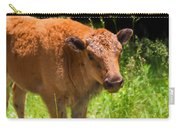 Young Bison Carry-all Pouch