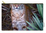 Young Bobcat Carry-all Pouch