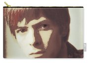 Young Bowie Pop Art Carry-all Pouch