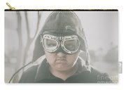 Young Boy Pilot. Battle Ready Carry-all Pouch