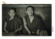 Young Buddhist Monks Carry-all Pouch