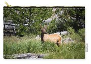 Young Bull Elk - Yellowstone National Park - Wyoming Carry-all Pouch