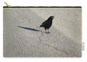 Young Cawing Crow Carry-all Pouch