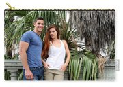 Young Couple Palm Tree Carry-all Pouch