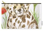Young Cub Leopard Carry-all Pouch