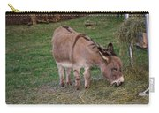 Young Donkey Eating Carry-all Pouch