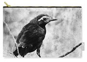 Young Grackle Carry-all Pouch