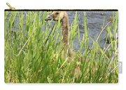 Young Grazing Goose Carry-all Pouch