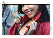 Young Hispanic Woman Carry-all Pouch