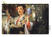 Young Japanese Lady Carry-all Pouch