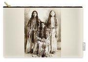 Young Kiowa Belles 1898 Carry-all Pouch