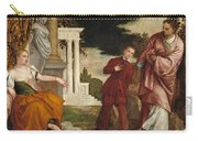 Young Man Between Vice And Virtue Carry-all Pouch