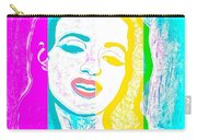 Young Marilyn Soft Pastels Impression Carry-all Pouch