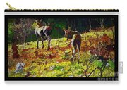 Young Moose In Autumn Carry-all Pouch