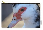 Young Muscovy Closeup Carry-all Pouch
