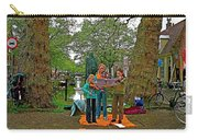 Young Musicians On Orange Day By A Canal In Enkhuizen-netherland Carry-all Pouch