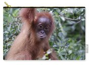 Young Orangutan Kiss Carry-all Pouch