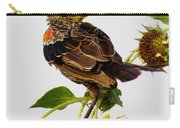 Young Redwing In The Wind Carry-all Pouch