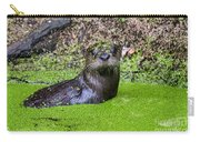 Young River Otter Egan's Creek Greenway Florida Carry-all Pouch