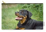 Young Rottweiler Carry-all Pouch