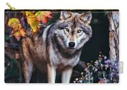 Young Timber Wolf Carry-all Pouch