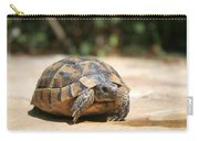 Young Tortoise Emerging From Its Shell Carry-all Pouch