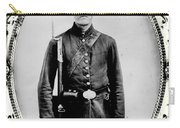 Young Union Soldier Carry-all Pouch