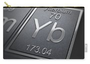 Ytterbium Chemical Element Carry-all Pouch