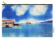 Yubu Island-water Buffalo Taxi  Carry-all Pouch