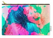 Yucca Abstract Pink Blue Green Carry-all Pouch