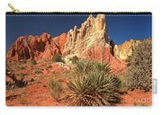 Yucca Badlands And Colors Carry-all Pouch