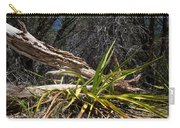 Pedernales Park Texas Yucca By The Dead Tree Carry-all Pouch