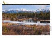 Yukon Taiga Wetland Marsh Spring Thaw Canada Carry-all Pouch