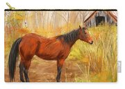 Yuma- Stunning Horse In Autumn Carry-all Pouch