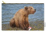 Yummy Salmon Carry-all Pouch