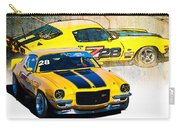 Yellow Z28 Camaro Carry-all Pouch