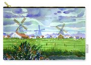 Zaanse Schans Windmills Carry-all Pouch