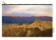 Zabriskie Point Sunrise Death Valley Carry-all Pouch
