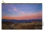 Zabriskie Point Sunrise Carry-all Pouch
