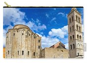 Zadar Cathedral Famous Landmark Of Croatia Carry-all Pouch