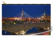 Zakim At Night 2 Carry-all Pouch by Joann Vitali