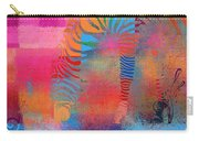 Zebra Art - Mtc077b Carry-all Pouch