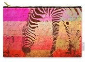 Zebra Art - T1cv2blinb Carry-all Pouch