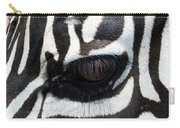Zebra Eye Carry-all Pouch