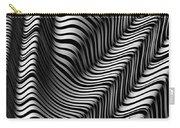 Zebra Folds Carry-all Pouch